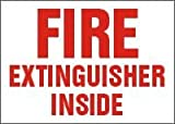 31Ayuys5VrL. SL160  Fire Extinguisher Inside Decal Sign