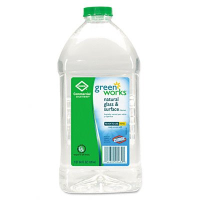 green-works-00460-commercial-solutions-glass-and-surface-cleaner-64-fl-oz-refill