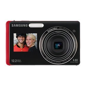 Samsung 12MP Dig Camera 5X Opt 3 In LCD Red at Amazon.com