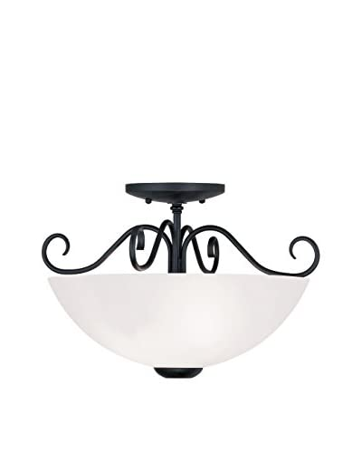 Crestwood Heather Ceiling Mount, Black