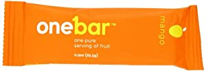 OneBar Fruit Bar, Mango, 0.9 Ounce (Pack of 12)