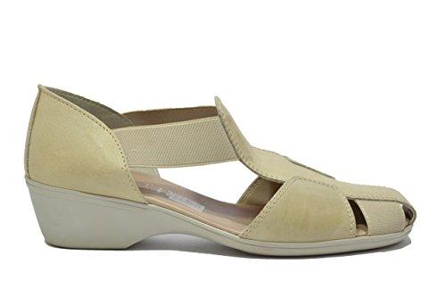 Cinzia Soft Scarpe sandali zeppa beige donna 8053Z 40