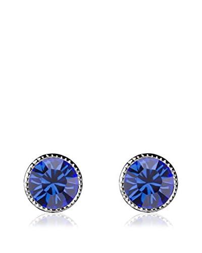 Absolute Crystals Orecchino Mini Dot Blu Royal