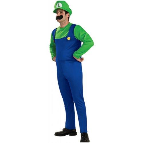 """Super Mario """"Luigi"""" Men's Costume- Large"""