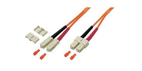 Patchkabel LWL Duplex OM2 (Multimode, 50/125) SC/SC, 1m, Good Connections®