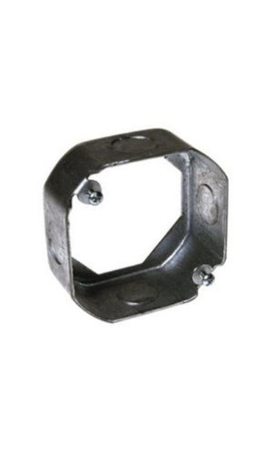 Steel City 4-OD-EXT-1/2 4-Inch Diameter 2-1/8-Inch Deep 21.5-Cubic Inch Pre-Galvanized Steel Octagon Box Extension Ring by Thomas & Betts