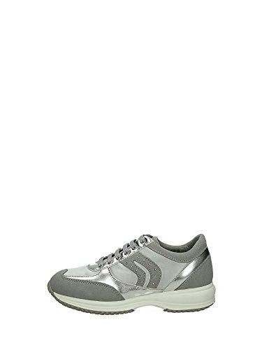 Geox J5256B Sneakers Basse Donna Grigio 36