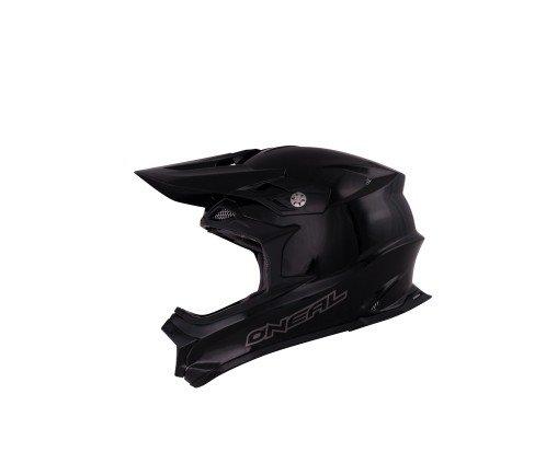 O'neal 812 Plain Motocross Enduro MTB Helm schwarz 2014 Oneal: Größe: L (59/60 cm)