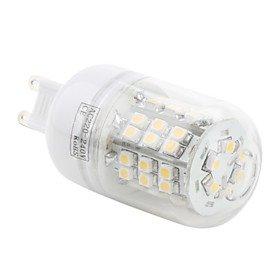 Led Bulbs - G9 48X3528 Smd 3W 150Lm 3000-3500K Warm White Light Led Corn Bulb (230V)