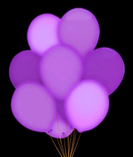"Led 14"" Blinky Balloons - Purple"