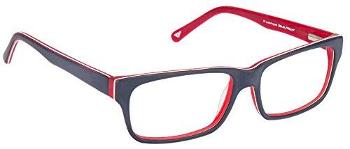 Vincent Chase VC 6466 Matte Blue Red C2 Eyeglasses(102933)