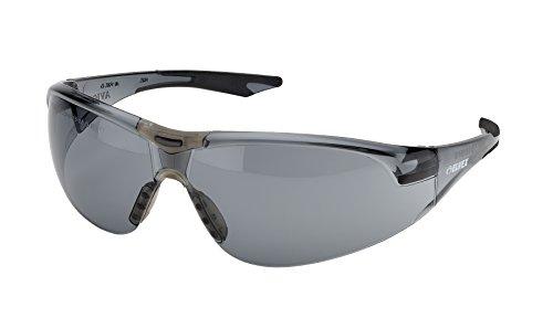 Elvex®SG18-BLK セイフティーメガネ グレー 耐衝撃 強化レンズ使用 米軍規格合格品 バイク 自転車 花粉症 対応