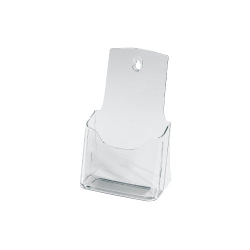 Sigel-LH113-Tisch-Prospekthalter-Prospektstnder-Flyerhalter-DIN-langA6-aus-hochwertigem-Acryl