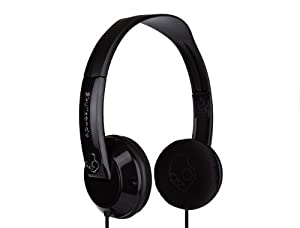 Skullcandy Uprock On-Ear Headphone S5URCZ-033 (Black/Black) (Discontinued by Manufacturer)