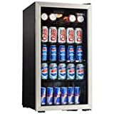 Danby 120 Can Beverage Cooler with Lock