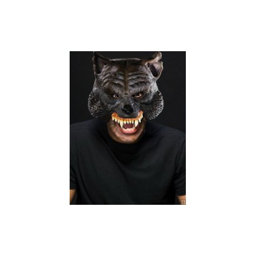 Manwolf Chinless Mask Halloween Costume Accessory