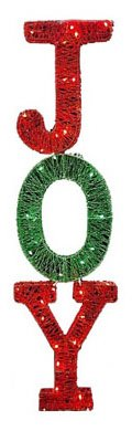 Citi Talent 55-339-087 Indoor Or Outdoor Christmas Decoration, 3-D Lighted