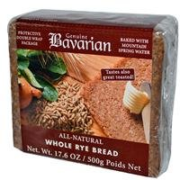Bavarian Breads Rye, Whl, 17.6-Ounce (Pack of 6) from Bavarian Breads