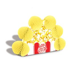 Popcorn Pop-Over Centerpiece Party Accessory (1 count) (1/Pkg)