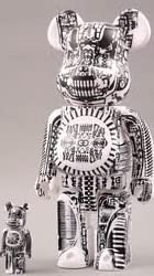 WORLD WIDE TOUR H.R.GIGER BE@RBRICK ベアブリック 100&400%