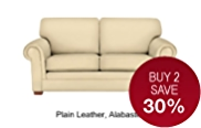 Fraser Medium Sofa - Leather