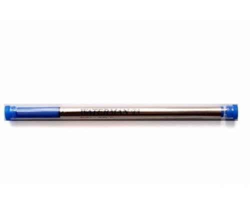 WATERMAN Lot de 3 Recharges Rollerball Pointe Fine Bleu