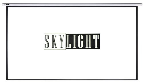 Skylight Er-120W-Mt 16:9 120-Inch Electric Projection Screen, Matte White