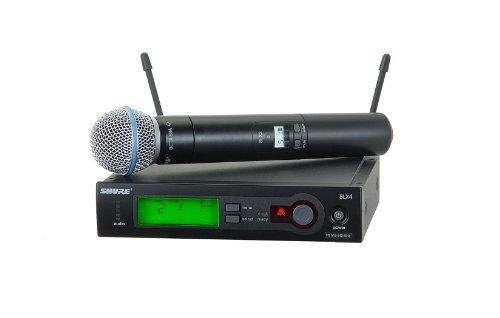 Shure Slx24/Beta58 Handheld Wireless System, J3