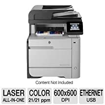 HP M476dn Color Photo Printer with Scanner Copier and Fax (CF386A#BGJ)