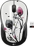Logitech - M325 Wireless Optical Mouse - Fingerprint Flowers