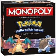 Monopoly Pokemon Exclusive Kanto Edition by Hasbro
