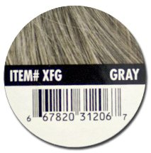 Xfusion Keratin Hair Fibers Gray Thickens Balding or Thin Hair - 25g