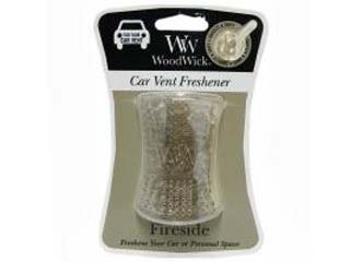 Fireside Car Vent Freshener by WoodWick *SET OF 2*