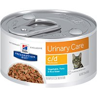 Hill's Prescription Diet C/d Multicare Feline Vegetable, Tuna & Rice Stew