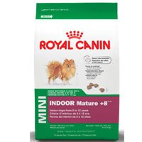 Royal Canin Mature Dry Pet Food for Mini Indoor Dogs Aged 8 Plus, 3-Pound