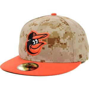 MLB Baltimore Orioles 2014 Memorial Day 59Fifty Cap by New Era