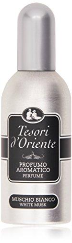 Tesori d'Oriente - Profumo Aromatico, Muschio Bianco - 100 ml