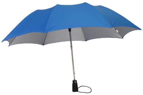 ROYAL BLUE UV Protection SPF 50 PLUS Rain or Solar Umbrella (Umbrella Solar Protection compare prices)