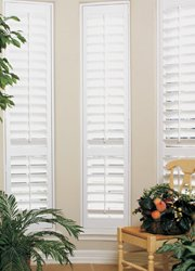 "Faux Wood Plantation Shutters 46""x46"", Interior Shutters by AmericanBlinds"
