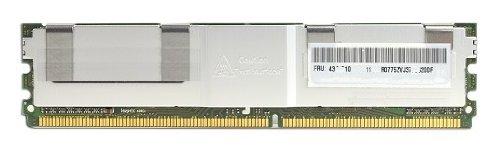 4 GB DDR2 Speicher ECC Fully Buffered Samsung , PC 6400 800 MHZ Bandbreite, 240 polig, Arbeitsspeicher passend für Server , Workstation auch für Apple Mac Pro