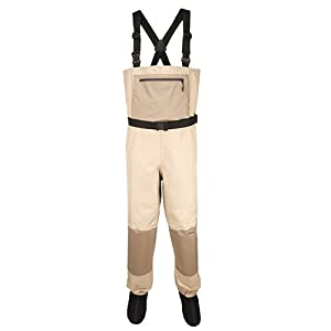 Aquaz Kenai Stockingfoot Chest Wader with 3-Ply Aqualex Pro Fabric Technology (Color:... by Aquaz
