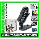 002042 VIDEOCAMERA DIGITALE MINI DV MD 80 WEBCAM TELECAMERA VIDEO/AUDIO 720*480