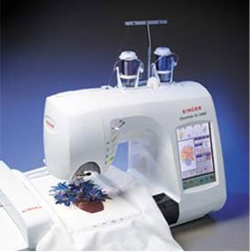Singer Quantum XL-5000 Sewing and Embroidery Machine FS