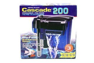 Cascade® 200 Filter Pump - 185 gph for up to 50 Gallon Aquariums