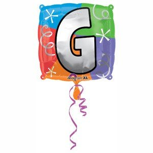 Amazoncom anagram international letter g quad package for Foil letter balloons amazon