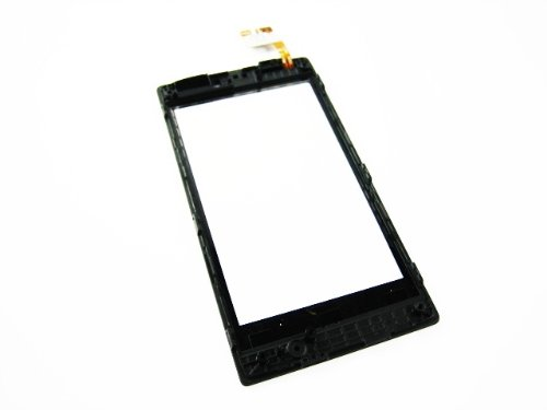For Nokia Lumia 520 Touch Screen Digitizer+Frame Mobile Phone Repair Part Replacement