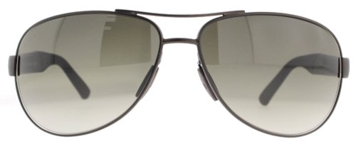 Gucci Gucci 2225S 8EJ Smooth Brown 2225 Aviator Sunglasses Lens Category 3