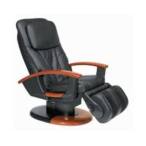 black leather ht 130 htt 10i robotic human touch massage chair rf