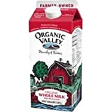 Organic Valley Ultra Pasteurized Whole Milk, 64 Ounce -- 6 per case.