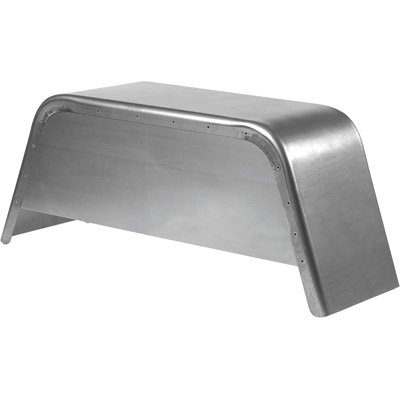 C.E. Smith Jeep-Style Steel Fender with Skirt - Fits 13in. or 14in. Wheel, 32in.L x 8 1/2in.W x 13 1/2in.H, Model# 18404T